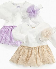 First Impressions Baby Dress, Baby Girls Tutu Dress - Kids - Macy's