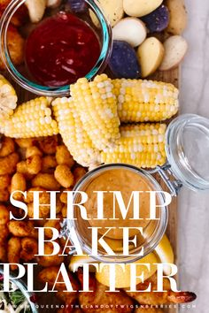 Tips on how to make an Easy and Delicious Shrimp Bake Platter full of delicious and fresh Gorton's shrimp under 30 minutes total! Most Popular Recipes, Amazing Recipes, Easy Recipes, Easy Meals, Shrimp Bake, Baked Shrimp, Delicious Dinner Recipes, Delicious Food, Bbq Ideas