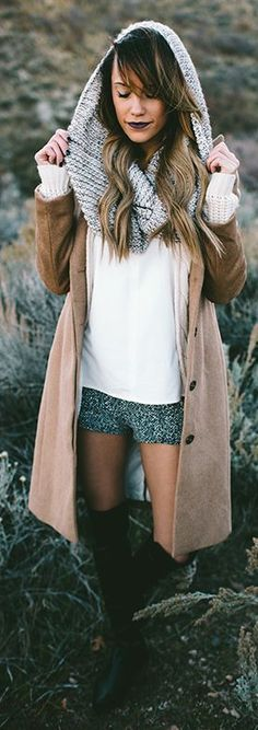 Green Glittering Shorts by Styled Avenue