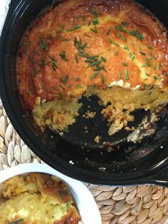 Well Dined | Corn Pudding #Thanksgiving #vegetarian