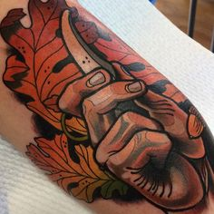 tattoo by Sam Clark