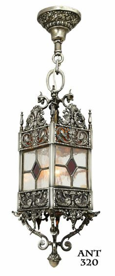 Victorian Coloured Glass Porch Light Porches Pinterest