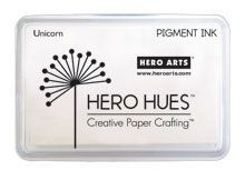 Hero Arts Pigment Ink Pad UNICORN White AF249.  <JMG.