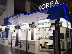 「korea booth」の画像検索結果 Exhibition Stall, Exhibition Display, Stand Design, Booth Design, New Shop, Pavilion, Exhibit Design, Deco, Exhibitions