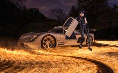 ultima gtr, fire and latex.