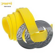Cintura in gomma gialla 1