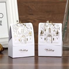Small Gift Boxes 12 pcs Weddig Gifts 3cm Mini Kraft Boxes w//Mini Tape Tiny Mail Party Supplies