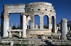 Risultati immagini per chiosco mercato leptis magna libia