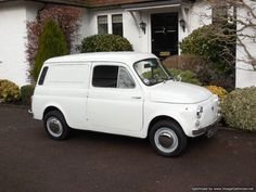 1970s Fiat Autobianchi 500 Furgoncino van Maintenance/restoration of old/vintage vehicles: the material for new cogs/casters/gears/pads could be cast polyamide which I (Cast polyamide) can produce. My contact: tatjana.alic@windowslive.com