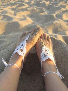 Crop Up: Trend: Barefoot Sandals