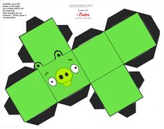 Pig Cube Angry Birds