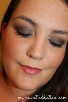 Smoky Eye Friday: Grey Smoke - My Newest Addiction Beauty Blog