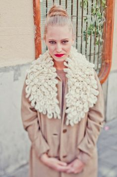"""Strickset """"NYC Collar"""" von We Are Knitters auf DaWanda.com"""