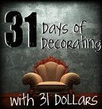 Decorating a room with only $31.00, in 31 days http://mylifemystyles.wordpress.com/2011/09/26/31-day-challenge-im-joining-in/