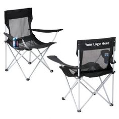 Custom printed mesh camping chairs are those durable and lightweight chairs, which you can always carry around, while picnicking or tailgating with your