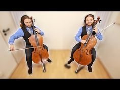 MEDITATION in G Cello Duet Cover | THAÏS by Jules MASSENET - YouTube