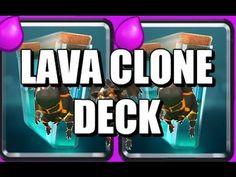 Lava Clone Deck - Clash Royale