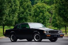 1987 Buick Grand National-Listed as one of GM Best 100 Vehicles Best Muscle Cars, American Muscle Cars, General Motors, My Dream Car, Dream Cars, Muscle Cars Vintage, Buick Grand National Gnx, Buick Gsx, Automobile