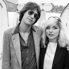 Ray Davies (The Kinks) en Debbie Harry