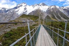 Hooker Valley Track to the Hooker Glacier Lake, Mount Cook New Zealand by Liina Oja