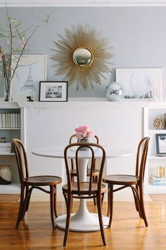 Guehne-Made - Kansas City | Home Remodeling | Home Styling | Custom Woodworks | Custom Furniture: The White Tulip Table | Like a Basic White T-shirt
