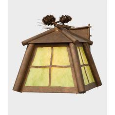 Steel Partners Saranac 1 Light Outdoor Wall Lantern Finish: Rust, Shade Type: Bungalow Green