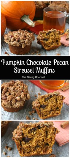 A soft and chewy interior packed with chocolate and pecans and a deliciously crunchy streusel topping - it's a total winner!