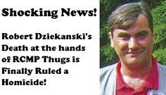 Robert-Dziekanski's-Death-Ruled-Homicide Shocking News, Death