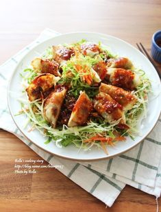 Korean Food, Kimchi, Cabbage, Food And Drink, Cooking Recipes, Snacks, Chicken, Baking, Vegetables