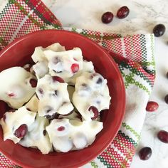 Lisa loves John: Cranberry Holiday Bark!