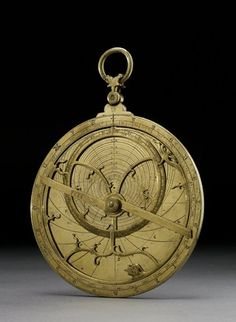 This artifact is an Astrolabe from the 15th-18th century CE and was made in England. This item is made with brass. This artifact fits into my theme in that the constant advances in technology, this artifact was used to help navigate through the position of the sun and stars.