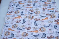 Catnip Filled Cat Mat Cat Play Mat Cat Bed by DoodlebugsTreasures, $11.99