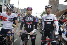 Chaam - Nederland  - wielrennen - cycling - radsport - cyclisme -  Stef Clement (NED-IAM Cycling) - Tom Dumoulin (Netherlands /…