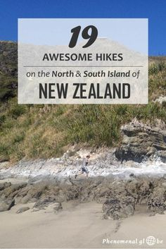 19 Awesome Hikes On The North&South Island of New Zealand