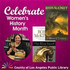 Librarian Karen from Florence Library tells us about her favorite author for #WomensHistoryMonth: Everything I ever needed to know I learned from Robin McKinley. Okay thats not completely true but it is true that no other writer has had as much or as extended an influence on me as McKinley whose fantasy worlds I entered for the first time as a 10-year-old in my local library. From Harry Crewe the heroine of The Blue Sword I learned that being an outsider may allow you to see important truths…
