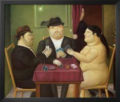 * Botero Fernando - - - Card players