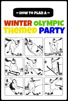 {Oh So Fun} Olympics Party Ideas