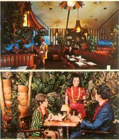 Tiki Restaurant, Tiki Hawaii, Tiki Lounge, Vintage Tiki, Tiki Party, Past Life, Tropical Paradise, Tiki Tiki, Vintage Photos