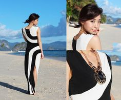 http://lookbook.nu/look/4868961-Love-Dress-Black-And-White