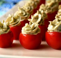 Dips, Food And Drink, Stuffed Peppers, Vegetables, Cooking, Party, Recipes, Happiness, Finger Food