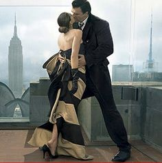 Carrie and Big by annie leibovitz