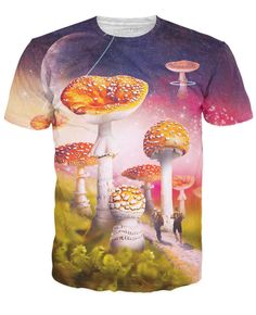 Journey to Shroomland T-Shirt