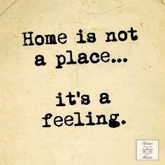 الوطن ليس مكان وإنما إحساس.