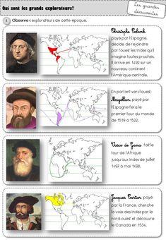 La découverte du Nouveau Monde CE2 - Caracolus