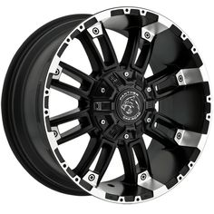 """4-Panther OffRoad 816 20x9 8x6.5""""/8x170 +0mm Black/Machined Wheels Rims 20"""" Inch · $651.96 Toyota Trd Pro, Toyota Tacoma, Trd Pro Wheels, 20 Rims, Fj Cruiser, Offroad, Panther, Chevy, Black"""