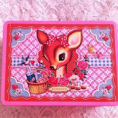 Lunchbox wu & wu  cotton candy fawn