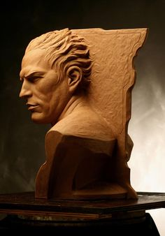 Sculpture Head, Pottery Sculpture, Jose Fernandez, Anatomy Sculpture, Ceramic Sculpture Figurative, Traditional Sculptures, Oeuvre D'art, Installation Art, Ceramic Art