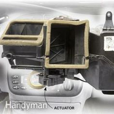 Car Heater Blowing Cold Air? Check the Actuator--As long as your engine is running, there's heat to be had.