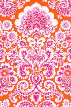 Summer Wallpaper Iphone Pink Posts New Ideas Motifs Textiles, Textile Prints, Textile Patterns, Pretty Patterns, Beautiful Patterns, Color Patterns, Pattern Art, Pattern Design, Illustration