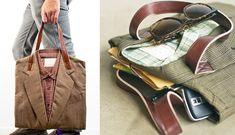 make things from old clothes | Old Clothes Find New Life As Your Bag With The Joe Recycled Suit Tote